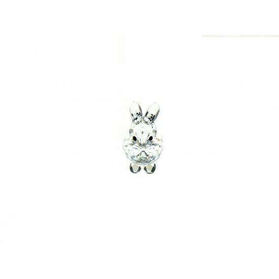 Swarovski  Silver Crystal - Lepre mini seduta 7678 040 000
