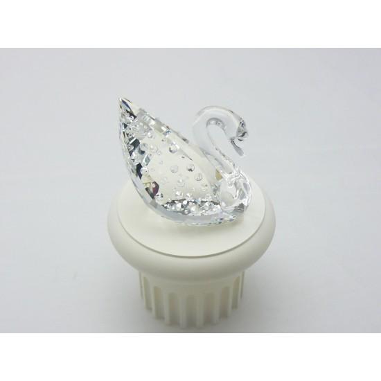 Swarovski  Silver Crystal - Cigno del centenario 187407