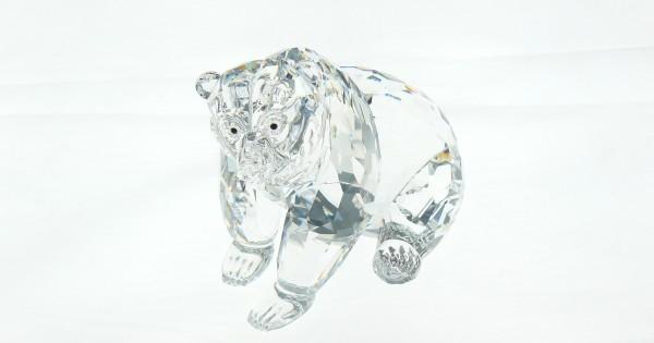 Swarovski Silver Crystali Grizzly 243880