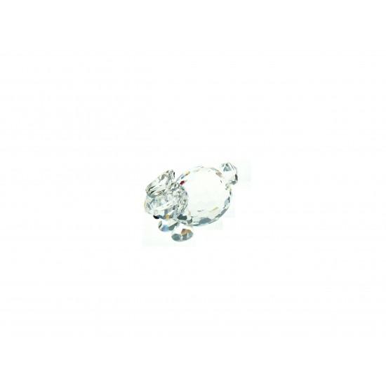 Swarovski  Silver Crystal - Lepre mini distesa 7678 030 000